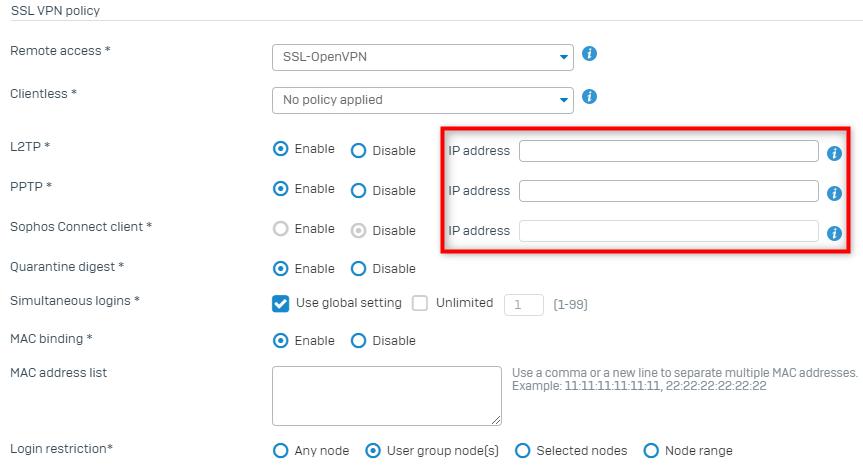 Sophos Ssl Vpn Client Not Connecting