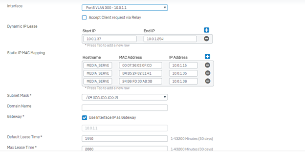 Trunk links - Network and Routing - XG Firewall - Sophos