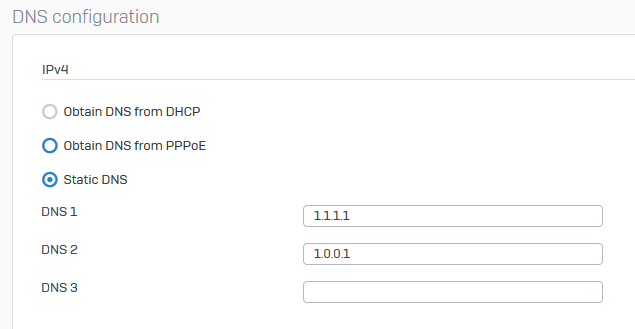 DNS host entry not working as intended? XG 17 5 - Network