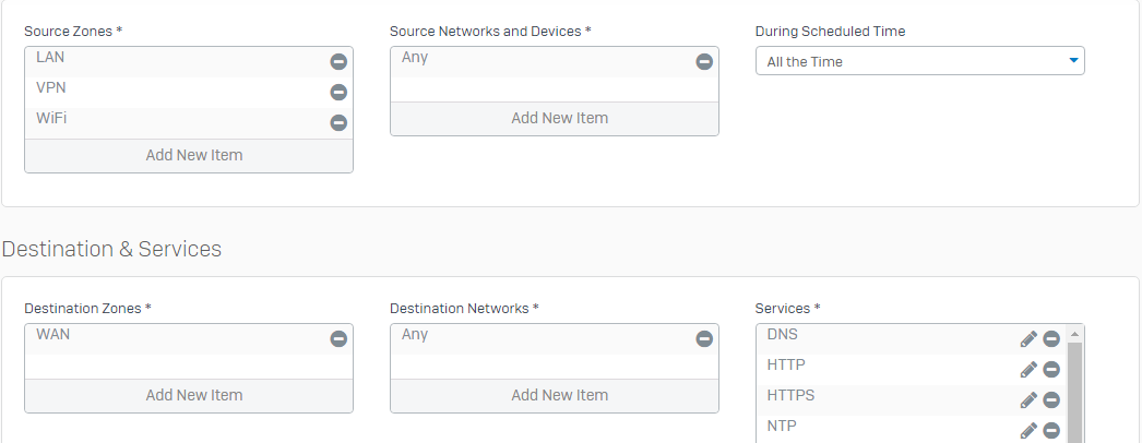 Sophos XG Home VLAN - Network and Routing - XG Firewall