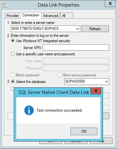Unable to connect to Sophos Enterprise Console version 5 0 0 if TLS
