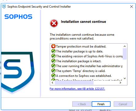sophos antivirus for windows removal tool