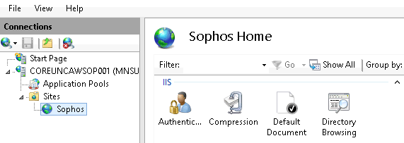 we are trying to install sophos update manager in azure vm
