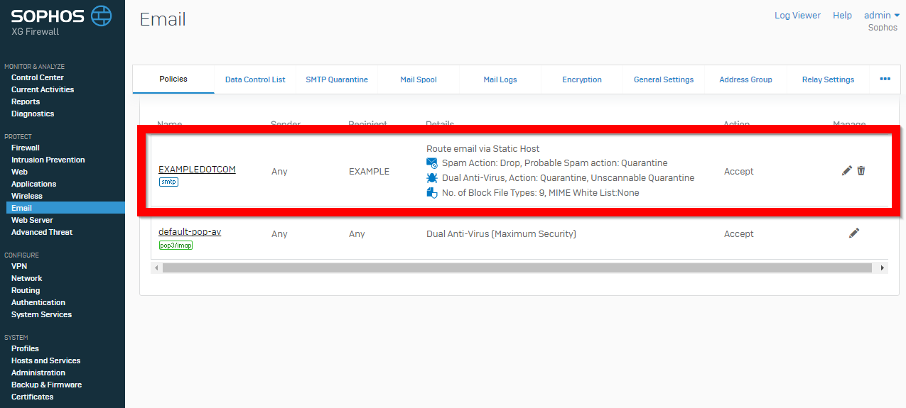 sophos xg firewall administrator guide v16
