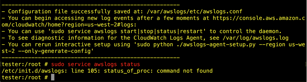 Cloudwatch logs not working - UTM on AWS - Sophos UTM 9
