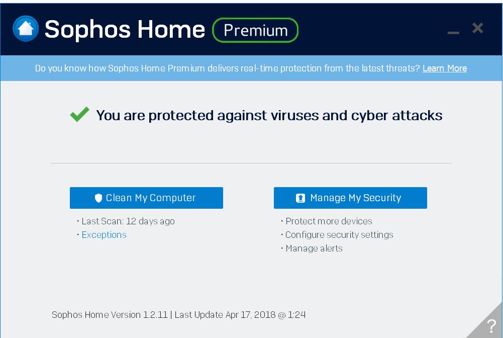 Sophos Home Use Program