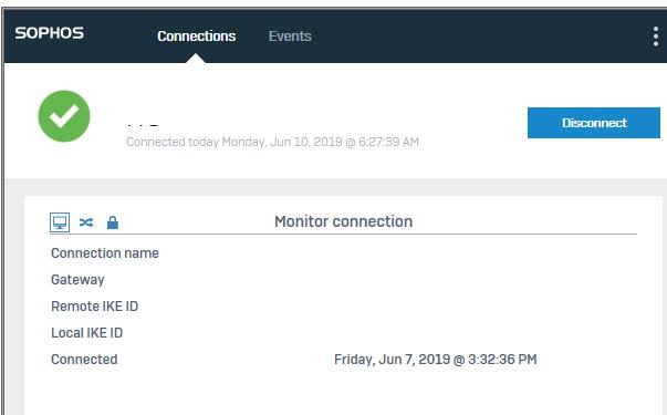 vpn + 2fa otp prompting - Sophos Connect 1 3 EAP - Sophos