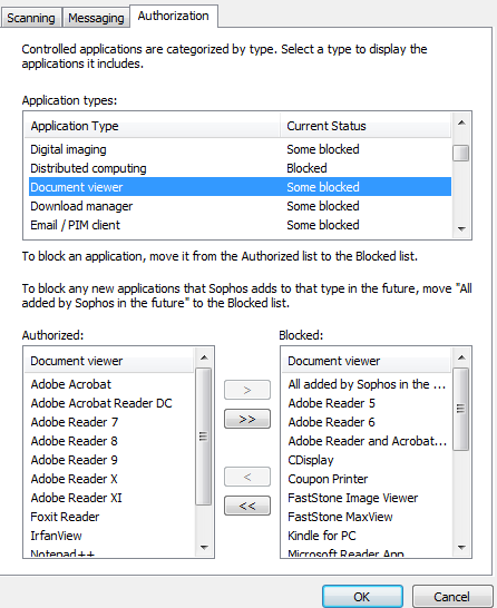 Adobearm exe now being blocked by Sophos - Sophos Endpoint