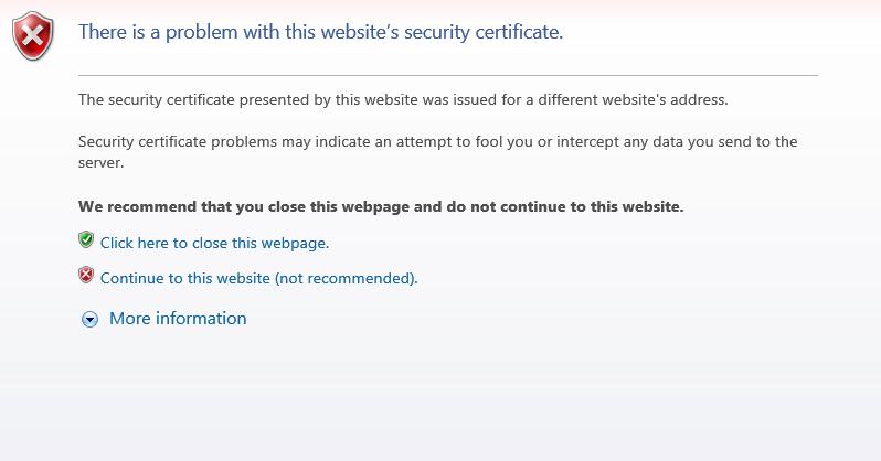 Certificate Error General Discussion Sophos Utm 9 Sophos Community