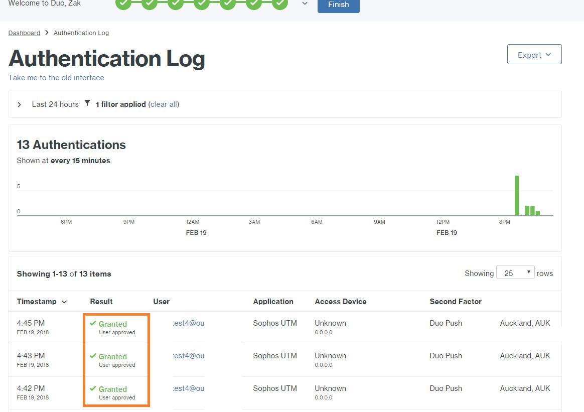 Sophos authenticator download