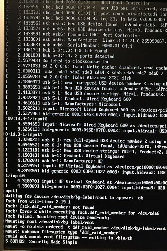 After up2date, slave node death - Hardware, Installation