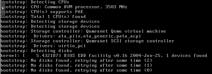 No Hard Disk Found - ProxMox 5 and asg-9 502-4 1 iso install