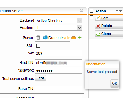 Problems with Auth  server - Management, Networking, Logging and