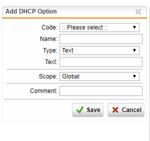Dhcp Scope Option 66