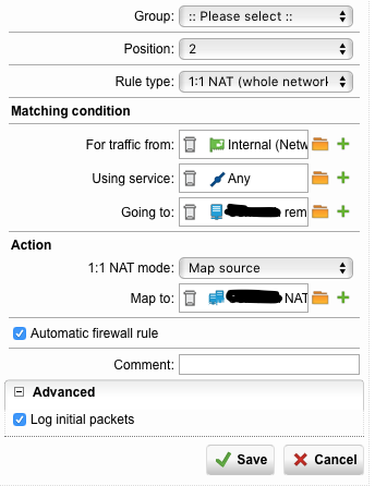 UTM 9 and Cisco ASA 3030 IPSec VPN - Network Protection: Firewall
