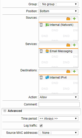Routing all traffic from LAN to Internet over VPN Tunnel in DMZ