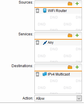 Firewall Default DROP IGMP - how to allow? - Network