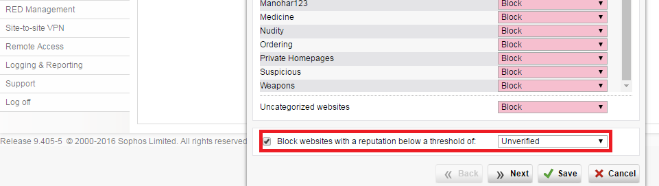 Internal webserver, public IP, connection refused  - Web