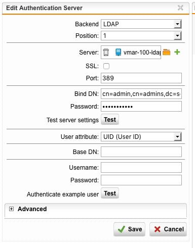 LDAP groups with FreeIPA - Web Server Security - Sophos UTM 9