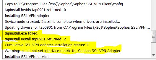 ASTARO SSL VPN ADAPTER DRIVERS FOR WINDOWS 10