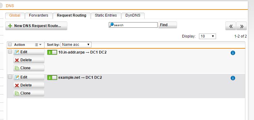 SSLVPN Split Tunnel DNS problem - VPN: Site to Site and