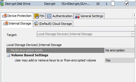 Encryption menu option is grayed out on the client? - Forum