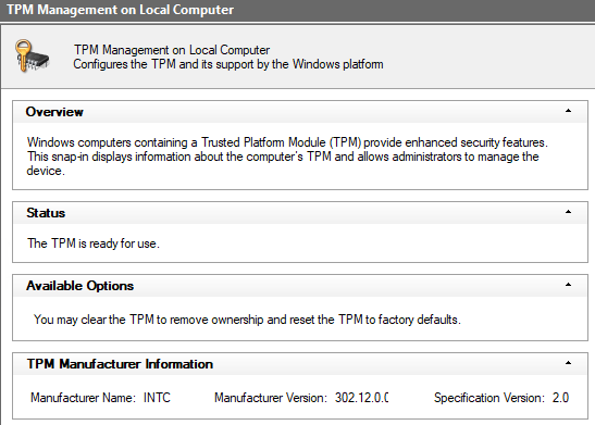 Bitlocker could not be enabled - The data drive is not set