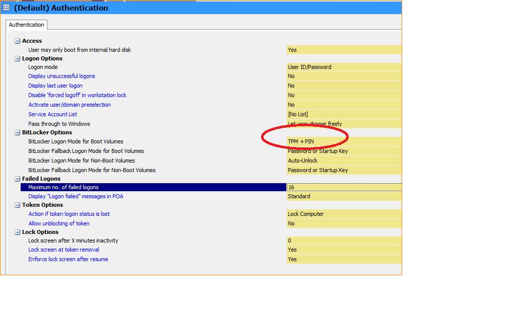 Sophos Safeguard Bitlocker 8 00 0 251 Not asking password at start