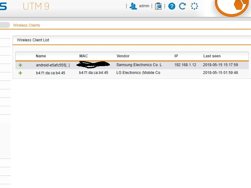 Unknown device in wireless client list but no IP address assigned. -  Wireless Security - UTM Firewall - Sophos Community