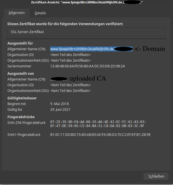 https host not found zertifikat error - German Forum - Sophos UTM 9 ...