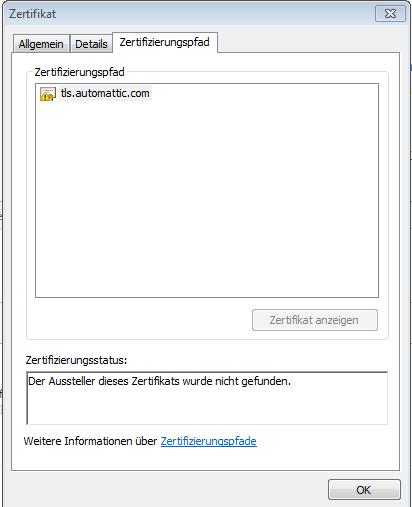 SSL proxy mit eigener Untergeordneter Zertifizierungsstelle - German ...