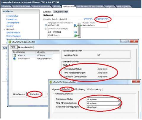 UTM9 Active-Passive HA on vmWare - Hardware, Installation