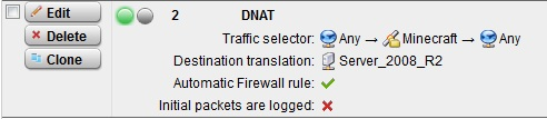 Minecraft Server - Network Protection: Firewall, NAT, QoS