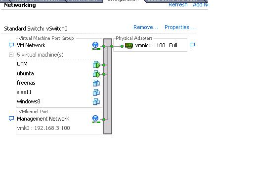 DMZ on vmware for guest os - Network Protection: Firewall, NAT, QoS