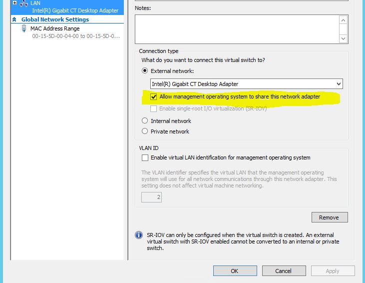 ANSWERED] Installing on Hyper-V Trouble - Project Copernicus
