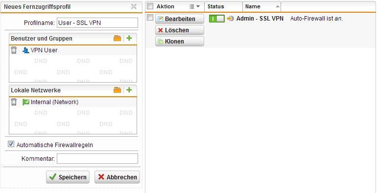 Sophos utm 9 ssl vpn client