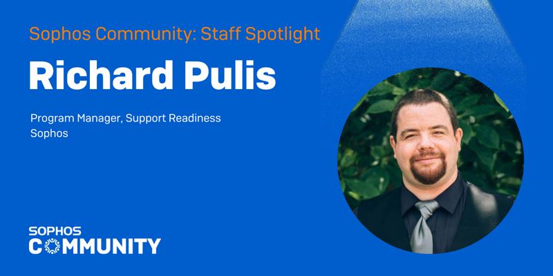 Sophos Community: Staff Spotlight - Richard Pulis