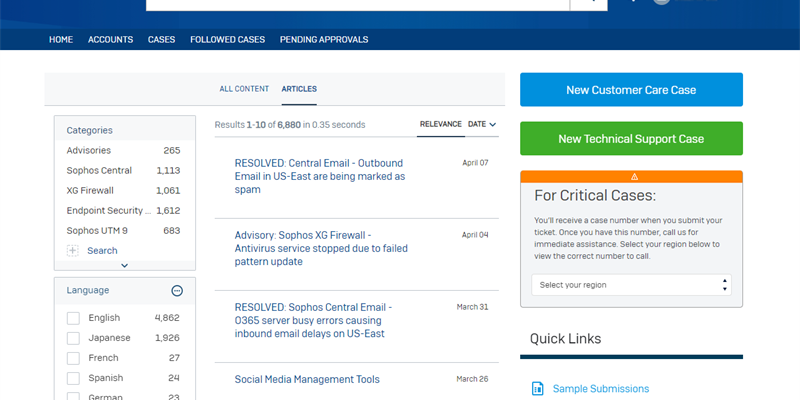 Sophos Support is launching a new Support Portal!