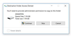 Admin permissions to copy to USB Stick ? - Forum - SafeGuard