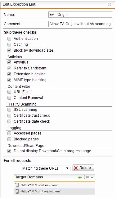 Origin Download Fix - Web Protection: Web Filtering & Application