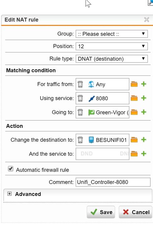 UTM9 Blocks incomming traffic - Network Protection: Firewall