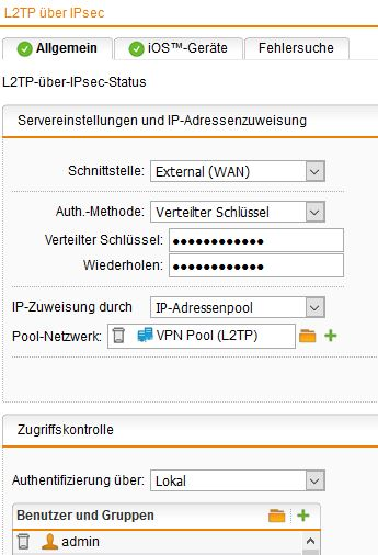 How to secure pptp server